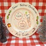 Christmas Eve plate - £12.00
