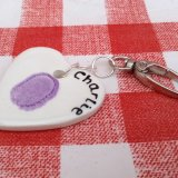 Ceramic key ring £12.00