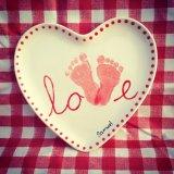 Heart plate £20.00