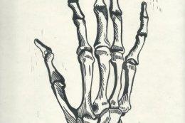 Skelly Hand B+W