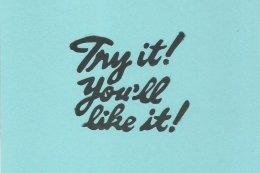 Try It! Blue