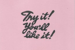 Try It! Pink
