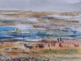 Watching the tide coming in, Berck-sur-Mer, 2015
