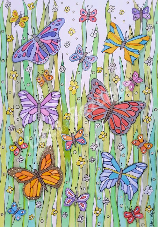 Dancing butterflys