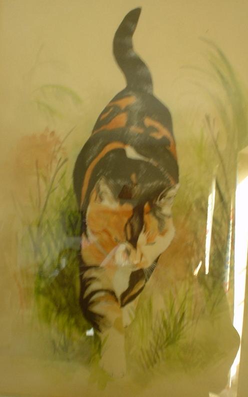 Honey - watercolour