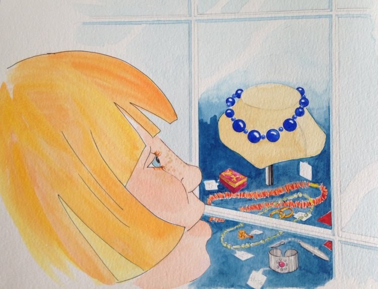 The Blue Necklace 3