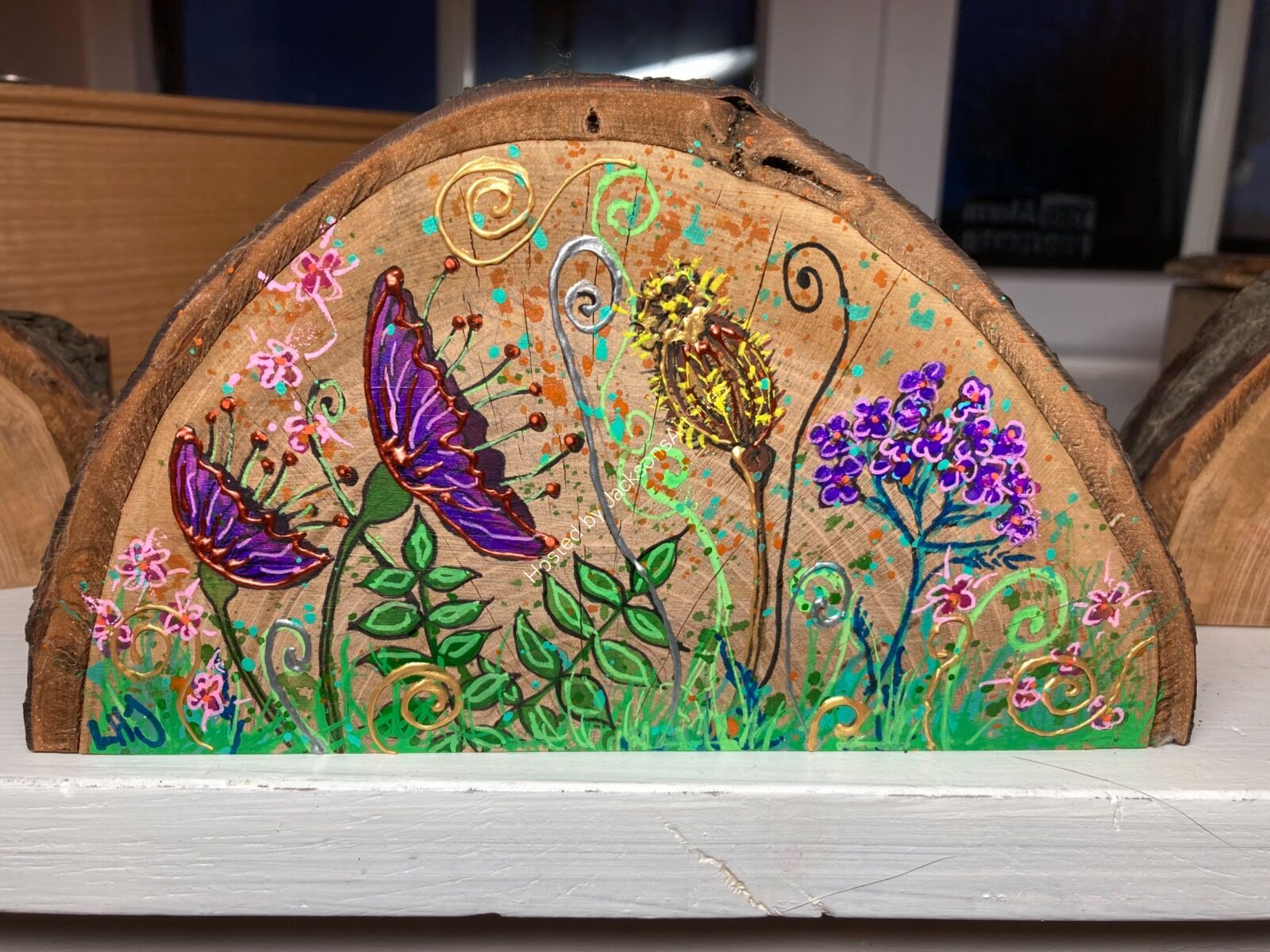 Wood Ornament SOLD