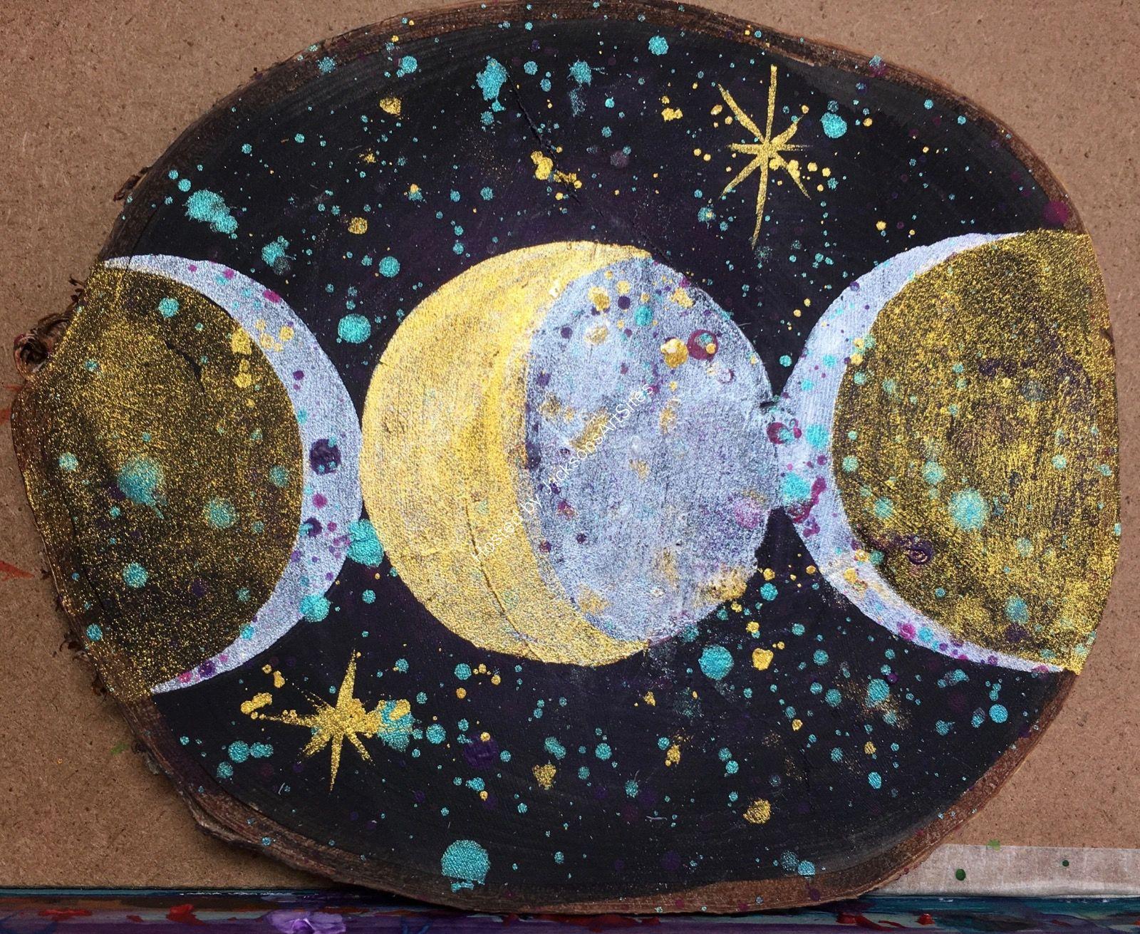 Triple Moon my Goddess
