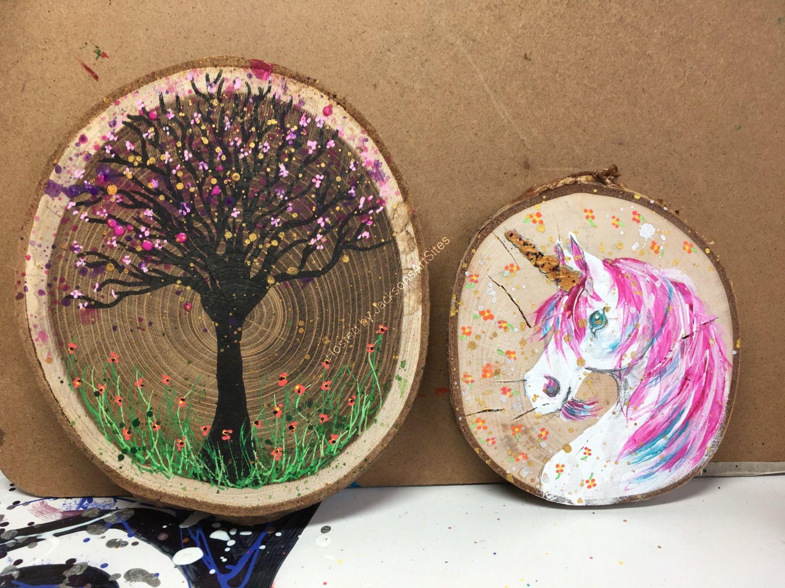 Tree and Unicorn SOLD