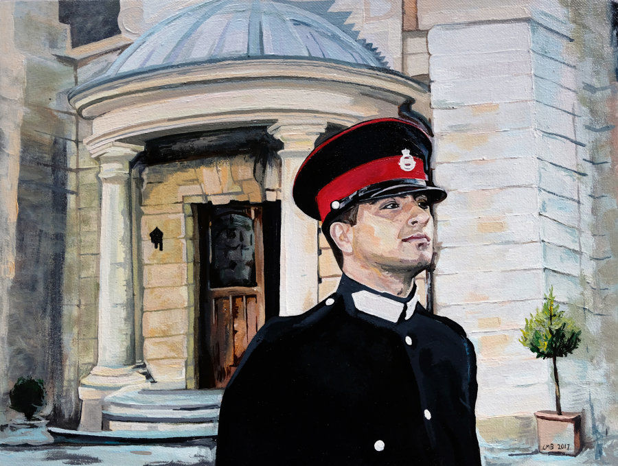 'Untitled' Portrait Painting