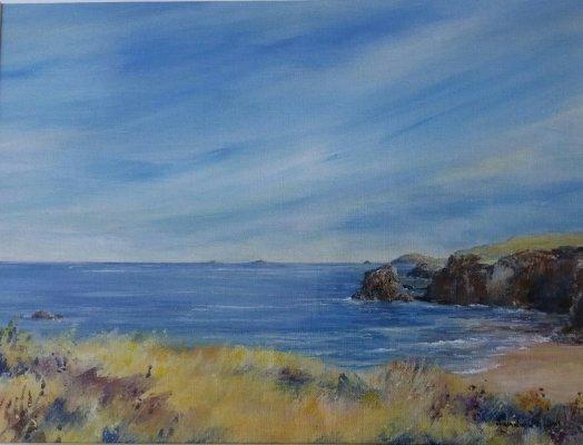 Pentreath Bay Cornwall