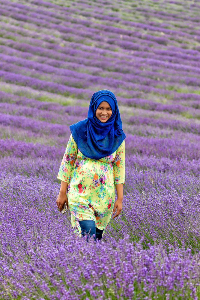 LADY IN LAVENDER 2018