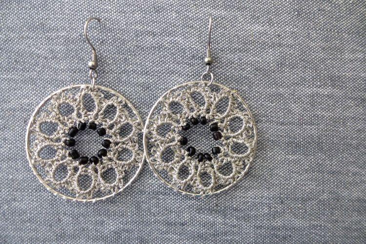 2025358 Tatted Earrings