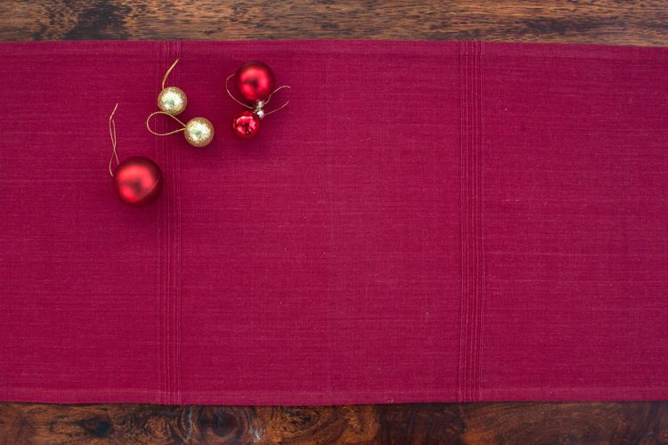 1118257-Hand Woven Cotton Table Runner