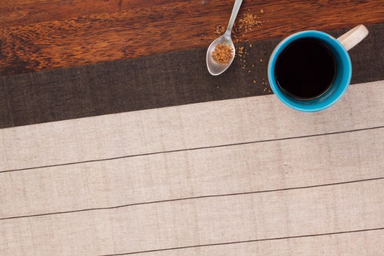 1118262-Hand Woven Cotton Table Runner
