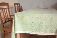 1415247-Hand Block Printed Tablecloth