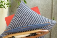 2521286-Cotton Hand-Woven Cushion Cover