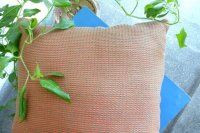 2521291-Cotton Hand-Woven Cushion Cover