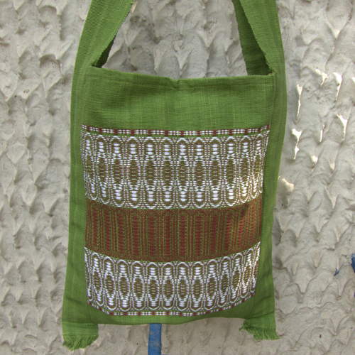 2511678-Hand Woven Shoulder Bag