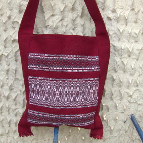2511679-Hand Woven Shoulder Bag