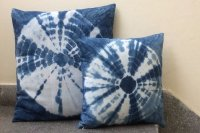 2821206-Cotton Indigo Cushion Cover