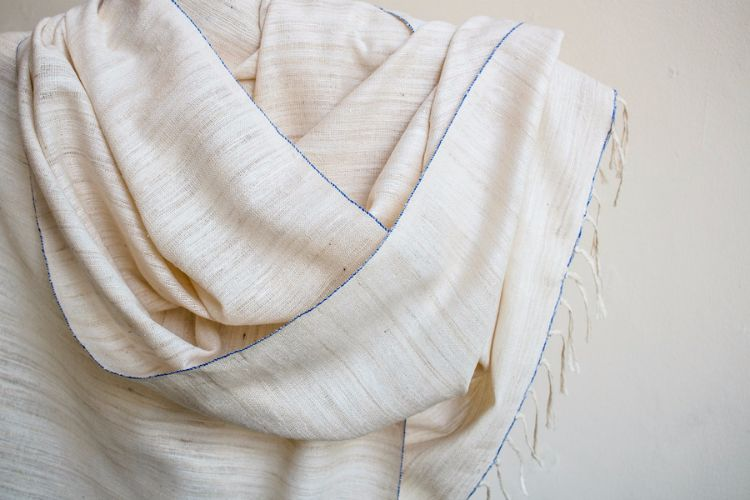 2822323-Eri Silk  Hand  Spun  &  Hand Woven