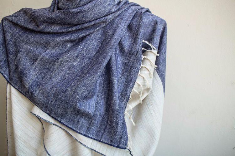 2822361-Eri Silk Hand Spun & Hand Woven
