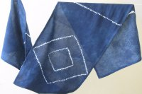 2822512-Indigo Cotton Scarf
