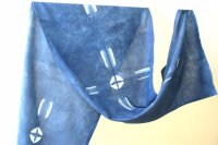 2822513-Indigo Cotton Scarf