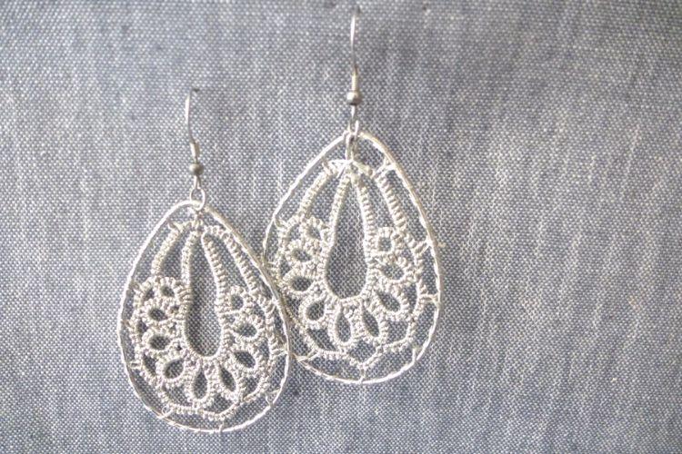 2025354 Tatted Earrings