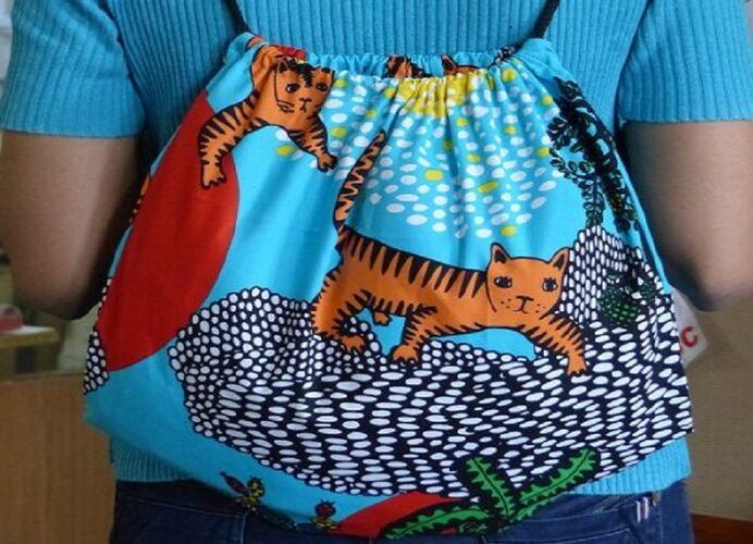6911639-Organic Cotton Jungalore Bag