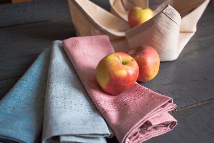 6915241 to 6915244-Hand Woven Cotton Napkins