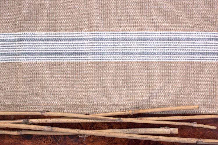 6918269-Hand Woven Cotton-Table Runner
