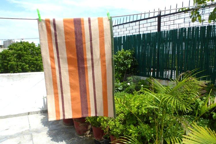 6927433-Hand Woven Cotton Tea Towel