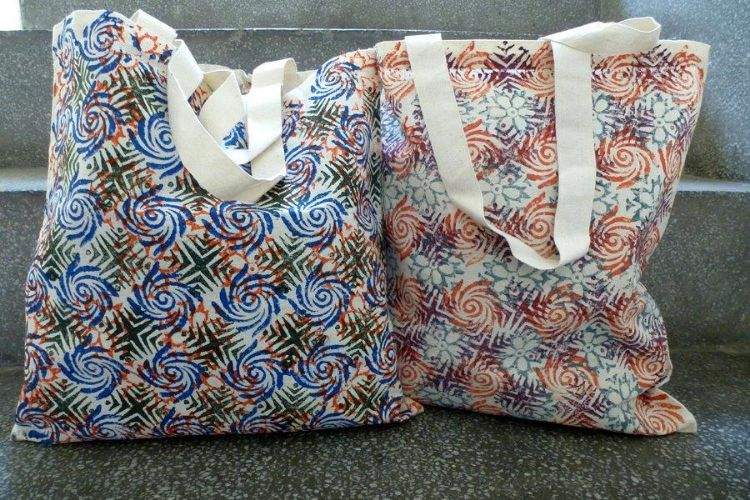 7811734-(Left) 7811743-(Right)  Printed Bag
