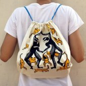 4811633-Printed Backpack