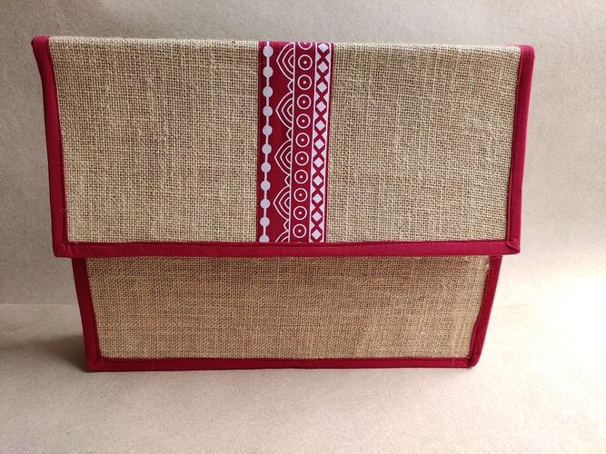 Document Folder with Gusset