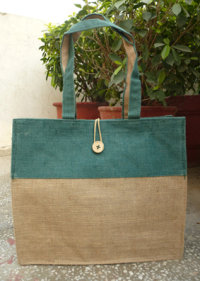 Double Tone Jute Bag - 5011595