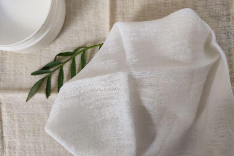 Organic Cotton Muslin Makeup Wipes