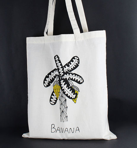 1411762 Tote Bag - Banana Print