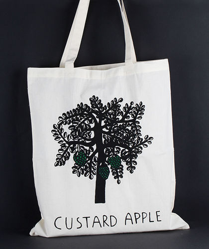 1411765 Tote Bag - Custard Apple Print
