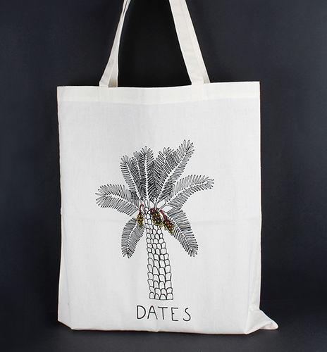 1411766 Tote Bag - Date Print