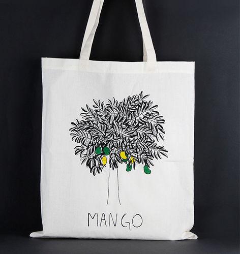 1411768 Tote Bag - Mango Print