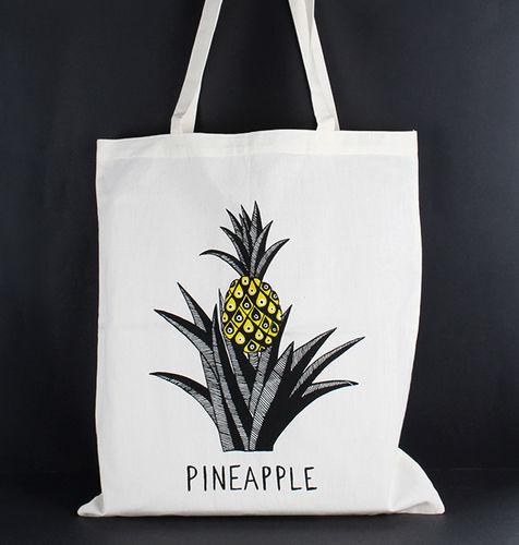1411771 Tote Bag - Pineapple Print