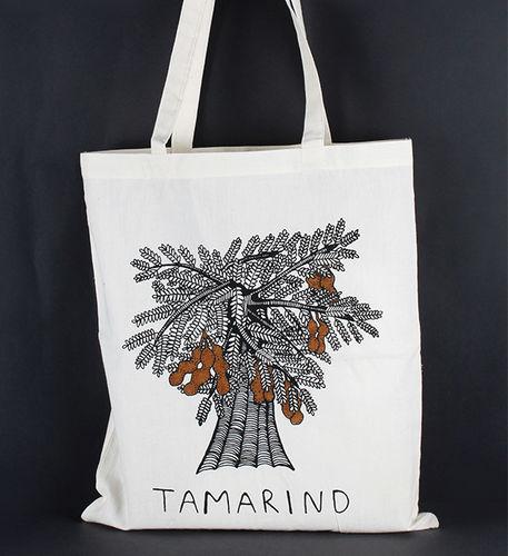 1411773 Tote Bag - Tamarind Print