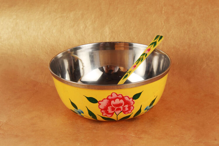 Set of 6 Hand Painted Bowls