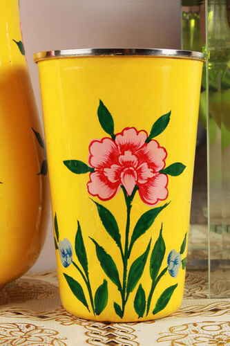 Set of 6 Hand Painted Tumblers