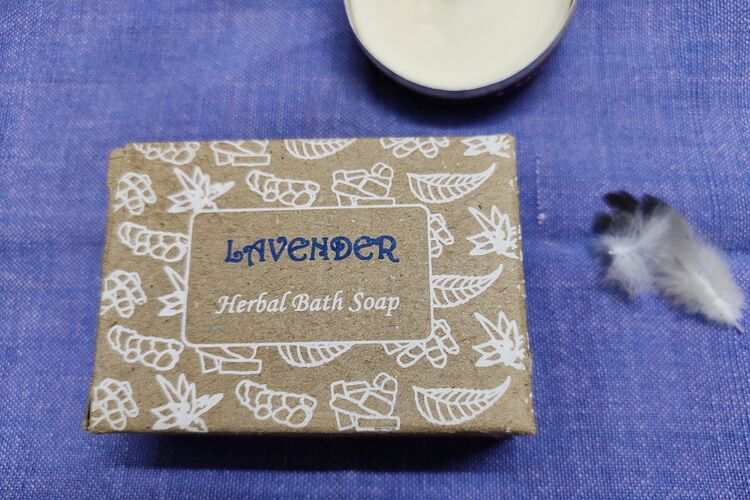 Lavender Herbal Bath Soap