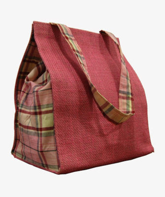 Lunch Jute Bag (Side Veiw) - 7011597