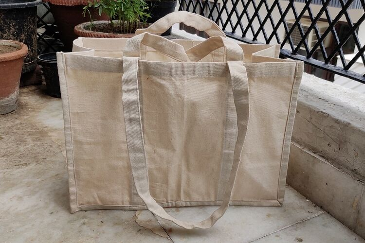 Organic Cotton Canvas Shopper
